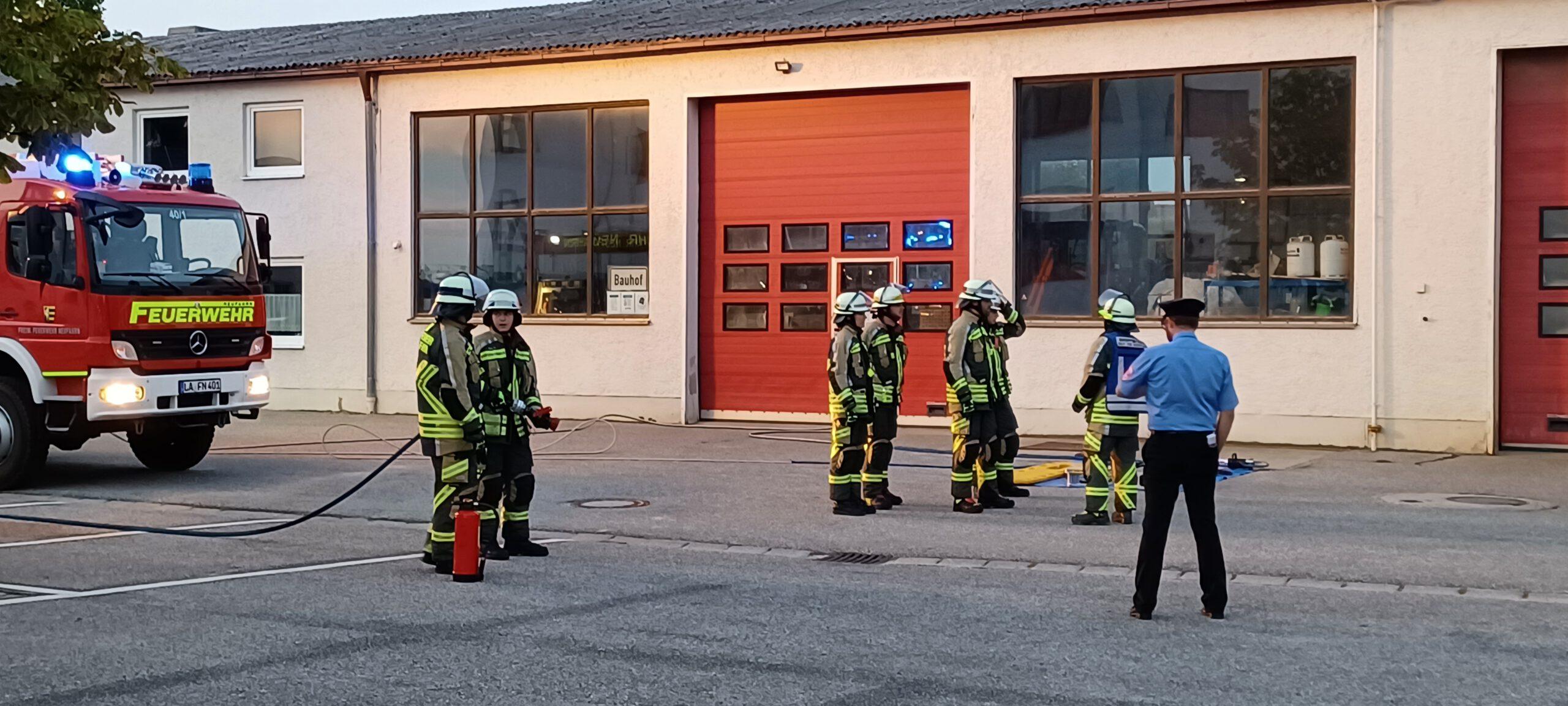 Read more about the article Drei Gruppen legen Leistungsabzeichen ab – Einsatz während Leistungsprüfung