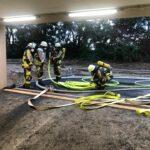 Atemschutzübung – Tiefgaragenbrand